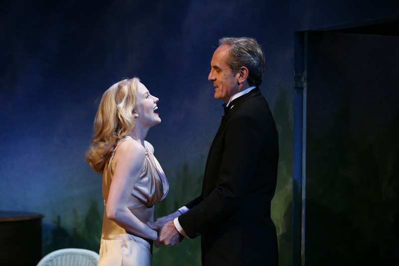 Heidi Armbruster and Anthony Newfield in SUSAN AND GOD by Rachel Crothers  Photo: Richard Termine