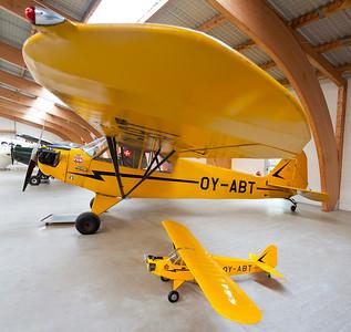 OY-ABT - Piper J-3 F-50 Cub (Lundtofte)