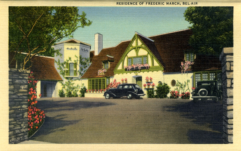 Residence of Frederic March