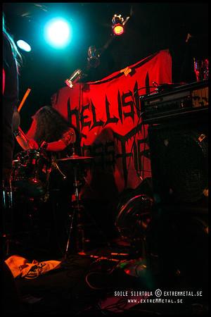HELLISH CROSSFIRE - Thrash Over Tantogården 2/2 2008