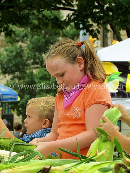 Easton Farmers Market, Easton, PA 8/6/2011