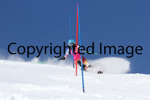 U16 Ladies Slalom 2/9 Run 1