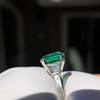 3.08ct Vintage Emerald Solitaire, by Tiffany & Co 4