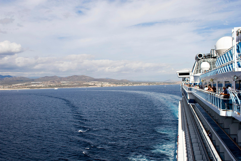 Leaving Cabo San Lucas
