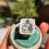 'Pineapple Family Crest' Chalcedony Ring, by Seal & Scribe 21