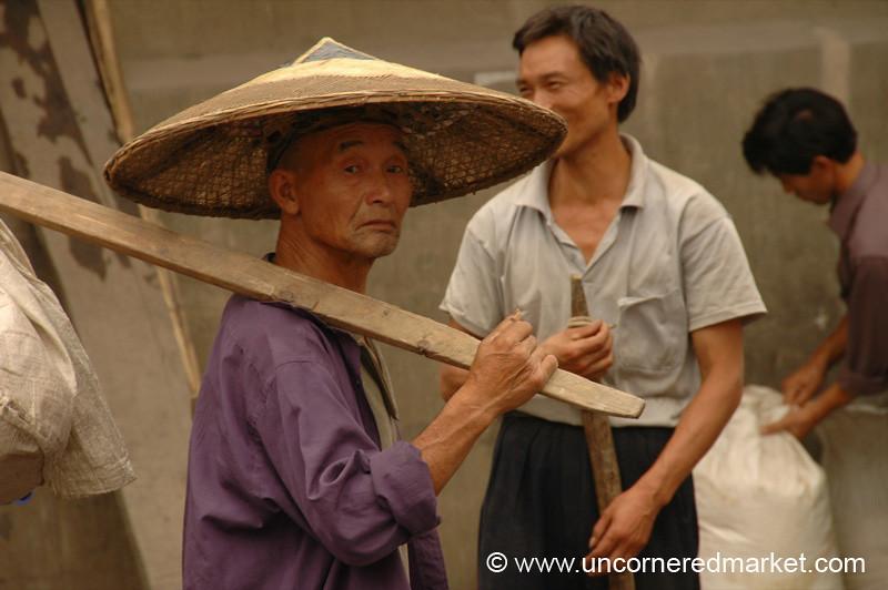Big Hat, Chong'an Market - Guizhou Province, China