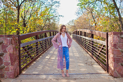 Kamrie Fall Session | Senior 2018