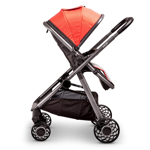 4 Ark Travel System Pushchair Mode Parent Facing Coral.jpg