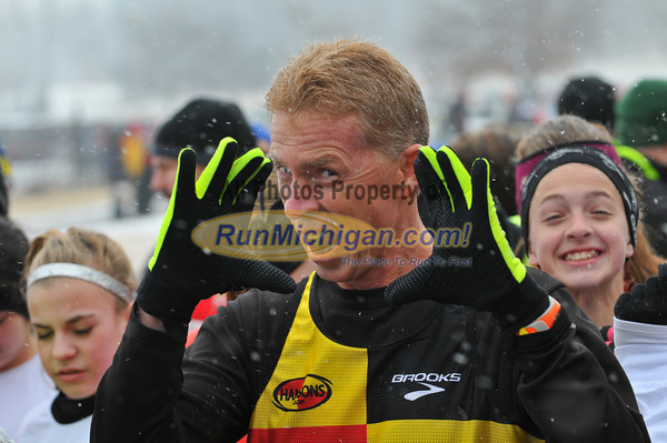 Starting Line and Pre-Race - Freeze Your Franny 5K