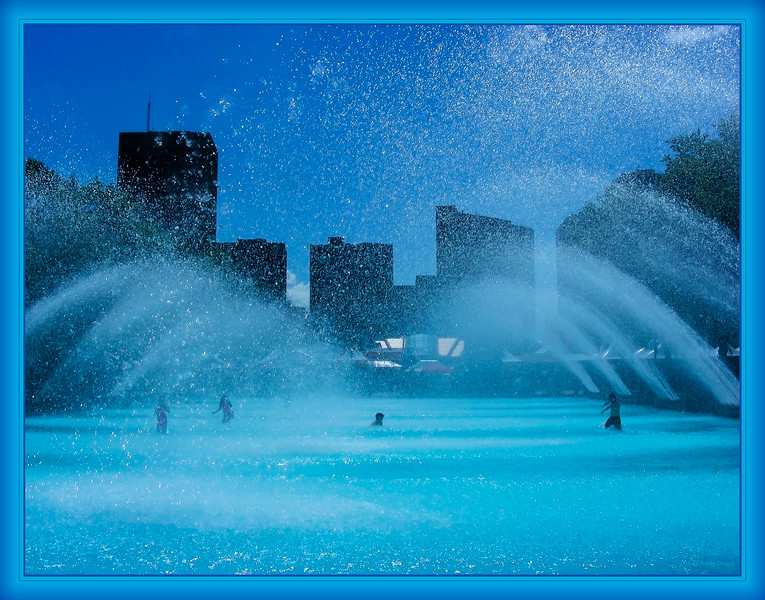 July 24, 2014<br /> <br /> Spray Park<br /> <br /> (204/365)<br /> <br /> Daily theme: Water<br /> #fmsphotoaday<br /> <br /> City Hall - Edmonton, Alberta