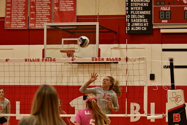 FHS volleyball vs Llano