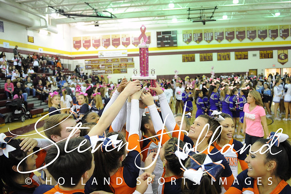 Cheer: Broad Run Believe in a Cure - Briar Woods 10.17.2015 (by Steven Holland)