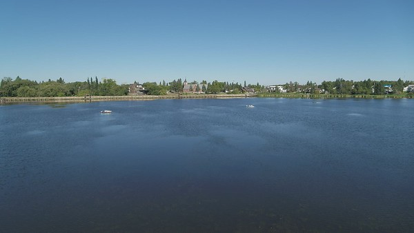 Telford Lake, Cultural Village, and Community Gardens Drone Video