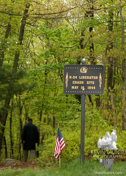 B-24 Crash Site Ceremony, Uxbridge, Massachusetts 5-15-2011