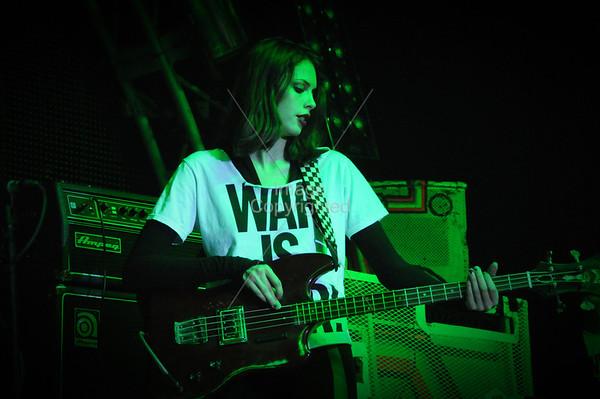 Charlotte Kemp Muhl, Plastic Ono Band, New Years Freakout 5. Dec. 31,2011. Oklahoma City, Oklahoma