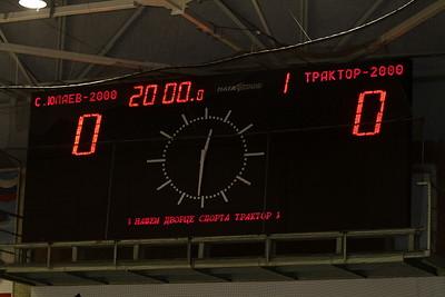 Трактор-2000 (Челябинск) - Салават Юлаев-2000 (Уфа) 2:3. 13 октября 2012