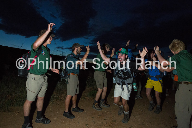 """***BATCH CAPTION***  On June 20, 2017, Rangers for the individual, secretive Rayado trek finished their training and finally met their crews that they will be supervising for the next 3 weeks. Not much is shared about the Rayado treks, but participants up to the age of 21 can apply for the 21 day trek through Philmont Scout Ranch with basically only one phrase to prepare them: """"Expect the unexpected""""."""