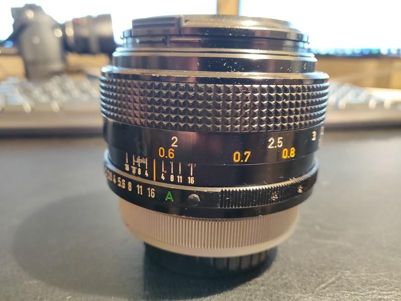 Canon FD 55 1.2 S.S.C. - Serial R408 & 100406 002.jpg