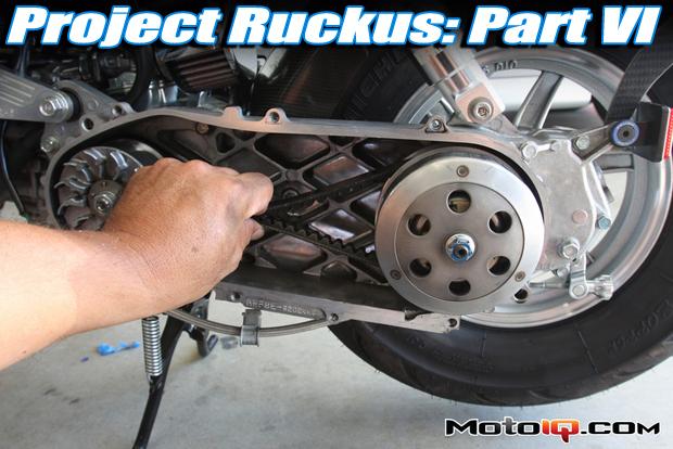 MotoIQ Project Honda Ruckus