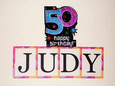 Judy's Surprise 50th Birthday