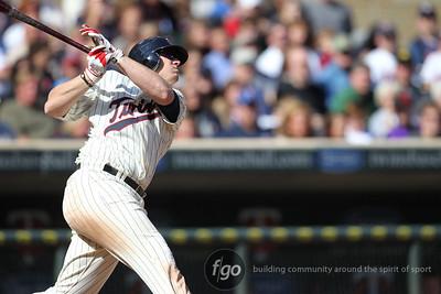 MLB - Cleveland Indians v Minnesota Twins 9-17-11