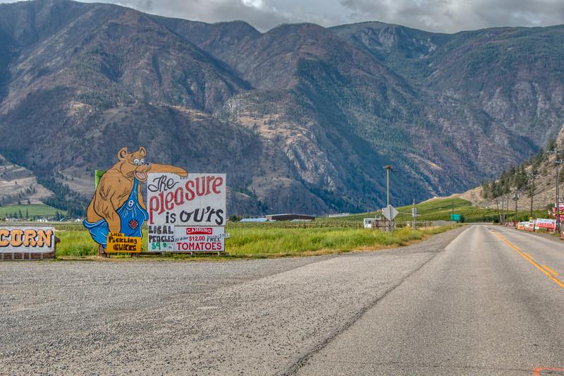 Highway 3A, Keremeos