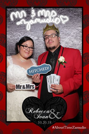 Rebecca and Ivan Wedding Mirror Photo Booth