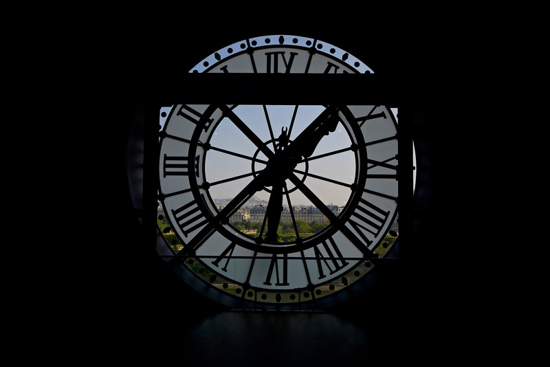 Clock at Musee d'Orsay