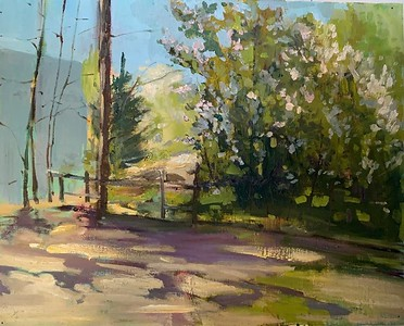 """""""Spring"""" (oil) by Marina Berezina"""