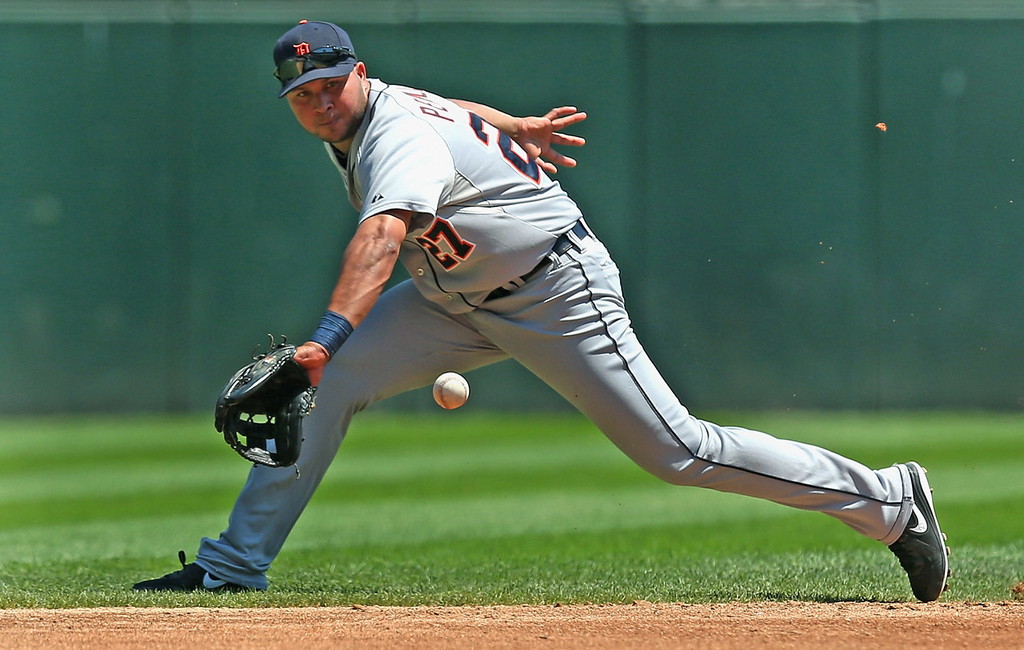 . Jhonny Peralta, shortstop, Detroit Tigers. (Photo by Jonathan Daniel/Getty Images)