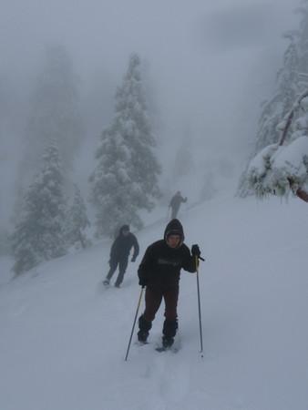 Mt. Waterman Snowshoeing 02/09