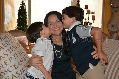 FAMILY: MOM & HER BOYS (AND GRANDMA)