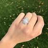 1.82ctw Diamond Cluster Ring 21