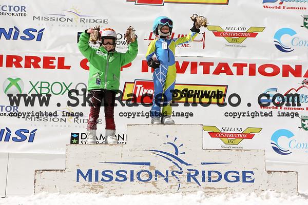 Dual Slalom Podiums