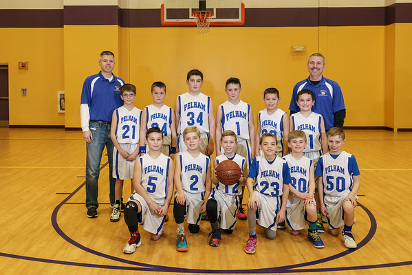 Pelham Travel Basketball - Fourth Grade