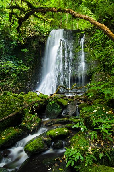 Matai Falls, South Island, New Zealand