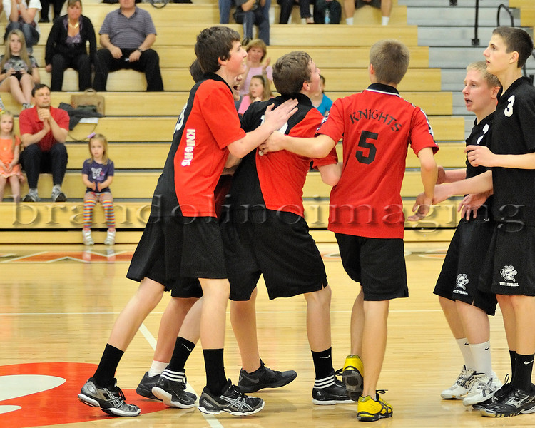 Lincoln-Way Central Boys Sophomore Volleyball (2012)