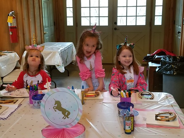 Madeleine's birthday party