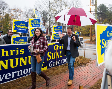 2018-11-6 NH Governor Chris Sununu Votes