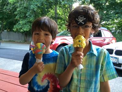 Dylan & Skylar--July 2014