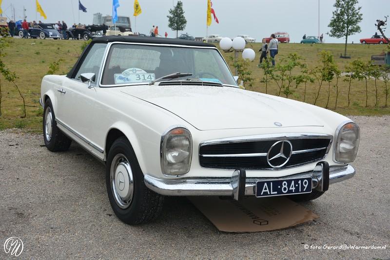 Mercedes Benz 280 SL, 1969