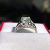 1.88ctw Platinum Filigree Solitaire Ring by C.D. Peacock, GIA S-T, VS 13