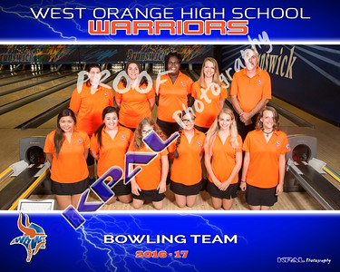 West Orange Bowling Teams