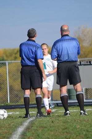Girls Varsity Soccer November 1 vs Fallston