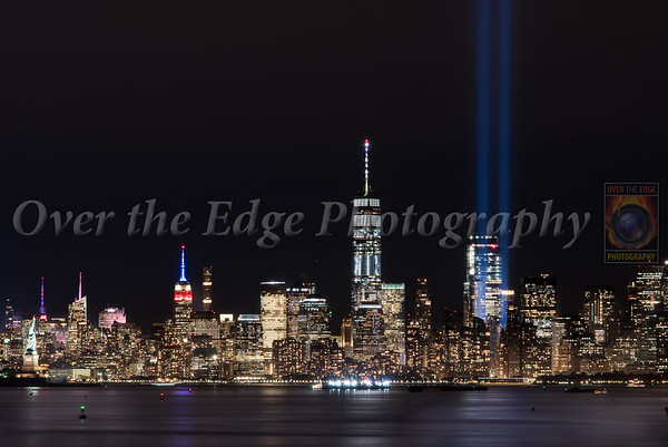 September 11th Tribute Lights - 16th Anniversary