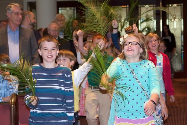 Palm Sunday Traditional Service