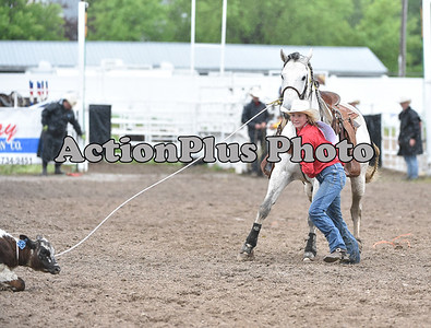 2018 HS Finals JR Ribbon Roping