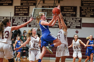 Girls Basketball Middletown at Tiverton on 1/15/20