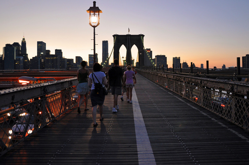 If you go to New York you must walk across!!