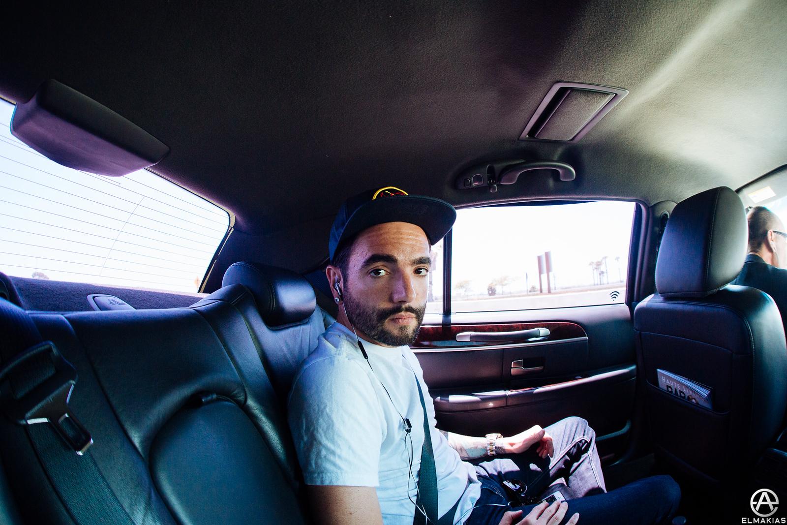 Car ride to Warped Tour